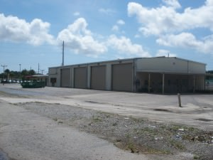 Existing building that will someday be a service center on Off Lease Only property.