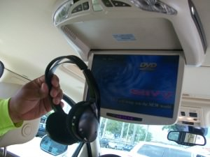 10-inch monitor with LED screen