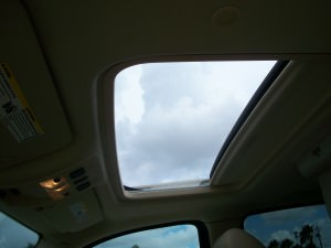 Moon roof