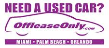 Off Lease Only Used Cars for Sale!