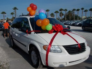 2006 Chrysler Town & Country mini-van donated by Off Lease Only