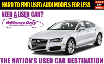 OffLeaseOnly Used Audi For Less