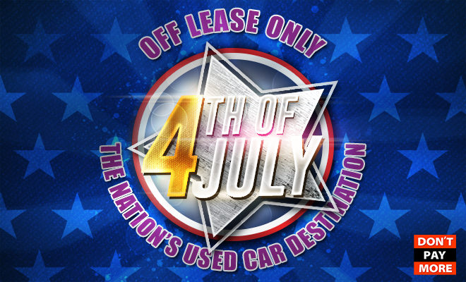 OffLeaseOnly Used Cars 4th July