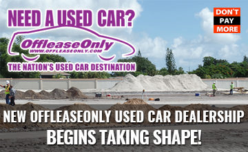 New OffLeaseOnly Used Car Dealership Begins Taking Shape