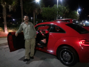 Adolfo Pesquera bought a 2013 Volkswagen Beetle,