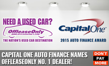 2015 Capital One OffLeaseOnly Dealer Award