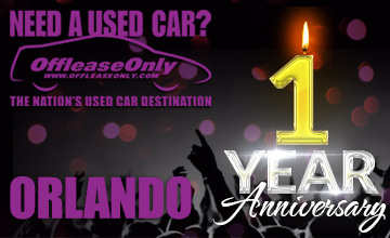 OffLeaseOnly Orlando Used Cars Anniversary