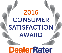 OffLeaseOnly-2016 Consumer Satisfaction Award- DealerRater