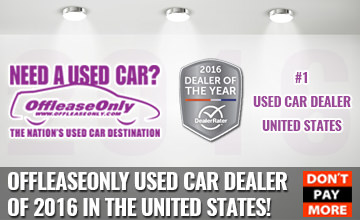 OffLeaseOnly 2016 Used Car Dealer of the Year