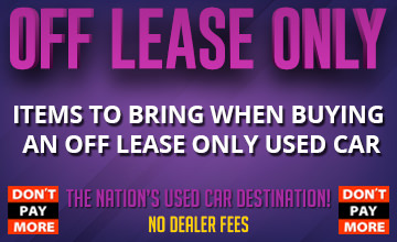 Buying OffLeaseOnly Used Cars