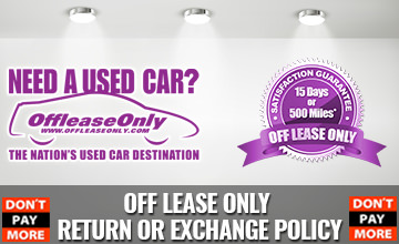 OffLeaseOnly Return or Exchange Policy