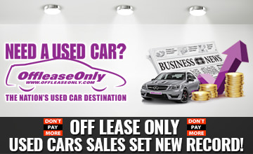 OffLeaseOnly Used Car Sales Record