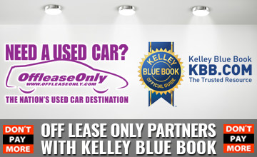 OffLeaseOnly Partners with Kelley Blue Book