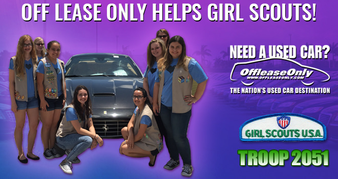 offleaseonly helps girl scouts get car care badge. Black Bedroom Furniture Sets. Home Design Ideas