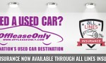 All Lines Auto Insurance - Now Available