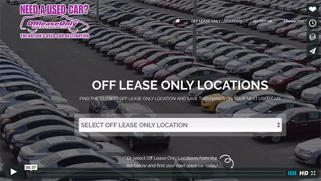 OffLeaseOnly Locations - One Click Away
