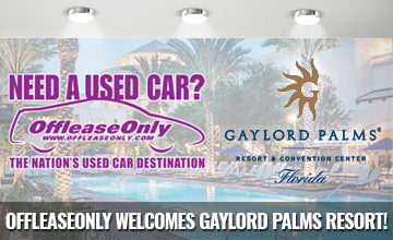 OffLeaseOnly Welcomes Gaylord Palms Resort