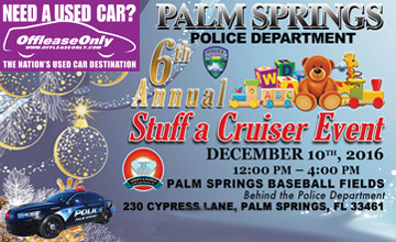 OffLeaseOnly 2016 Palm Spring Police Stuff a Cruiser