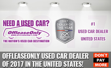 Off Lease Only Wins 2017 DealerRater Used Car Dealer of The Year!