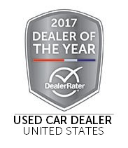 Off Lease Only Wins 2017 DealerRater Used Car Dealer of The Year