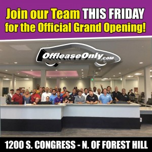 OffLeaseOnly Grand Opening