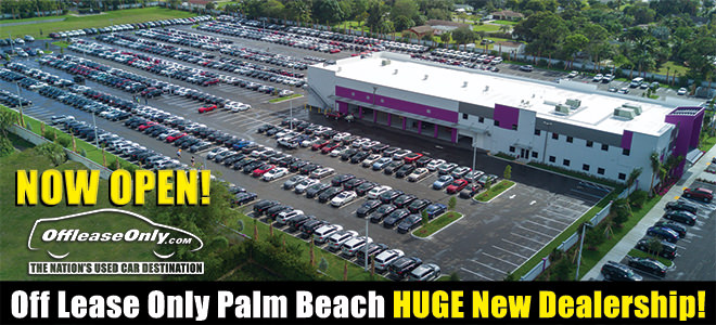 off lease only palm beach huge new dealership now open offleaseonly used cars for sale. Black Bedroom Furniture Sets. Home Design Ideas