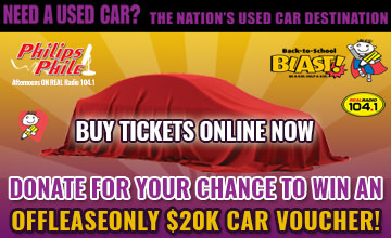 Donate for Your Chance to Win an OffLeaseOnly $20k Car Voucher!