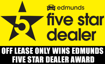 OffLeaseOnly 2017 Edmunds Dealer Award