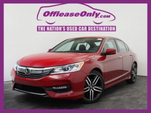 Off Lease Only 2017 Honda Accord Sport