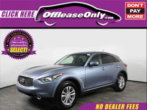Off Lease Only Select Infiniti