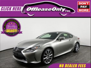 Off Lease Only Select Lexus