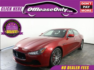 Off Lease Only Select Maserati