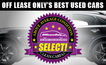 Of fLease Only Select Premium Used Cars Inventory