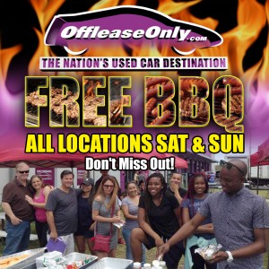 Off Lease Only free BBQ