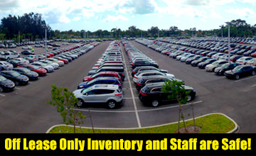 Off Lease Only Inventory After Hurricane Irma