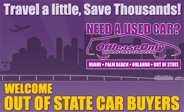 OffLeaseOnly OutOfState Used Cars for Sale