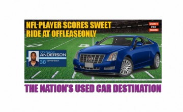 OffLeaseOnly Cadillac CTS NFL Anderson