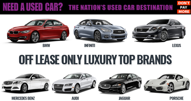 Top 10 Used Luxury Cars Top Used Luxury Cars: Luxury Used Cars For Sale And Top Brands At OffLeaseOnly