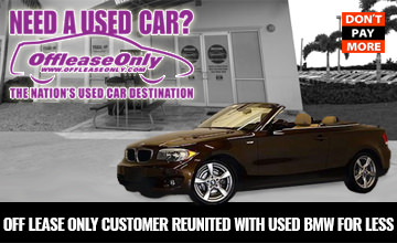 OffLeaseOnly Used BMW Reunited