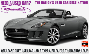 OffLeaseOnlyUsed Jaguar F Type For Sale