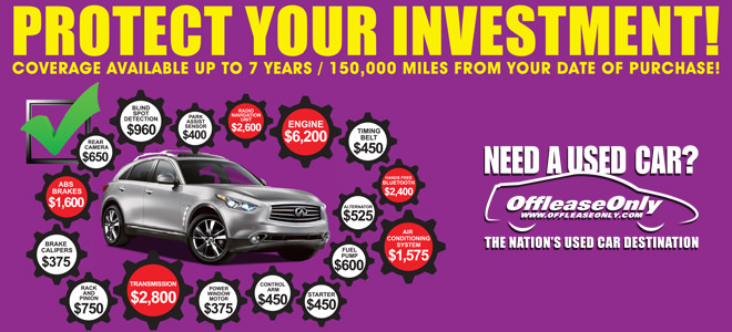 protect your offleaseonly used car