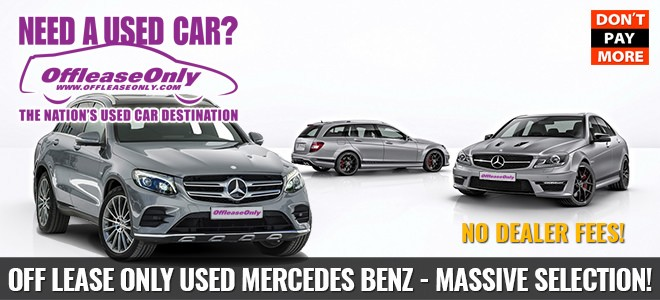 OffLeaseOnly Used Mercedes Benz for Sale
