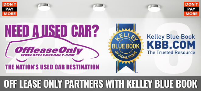 offleaseonly partners with kelley blue book. Black Bedroom Furniture Sets. Home Design Ideas