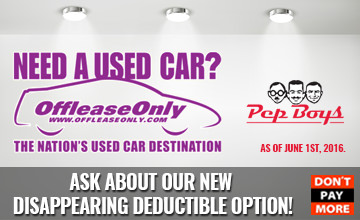 OffLeaseOnly Disappearing Deductible Option