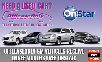 OffLeaseOnly GM Vehicles Free OnStar