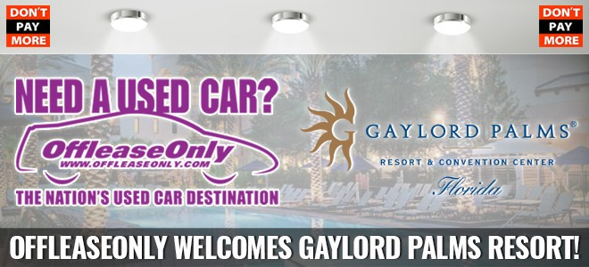 offleaseonly orlando welcomes gaylord palms resort. Black Bedroom Furniture Sets. Home Design Ideas
