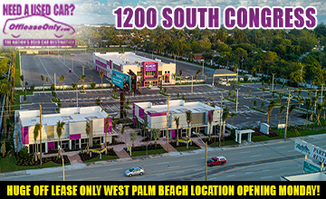OffLeaseOnly New Location -1200 Congress - Palm Beach