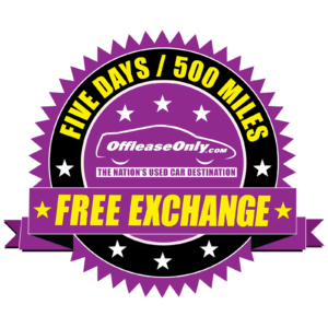 OffLeaseOnly's Free Exchange Policy
