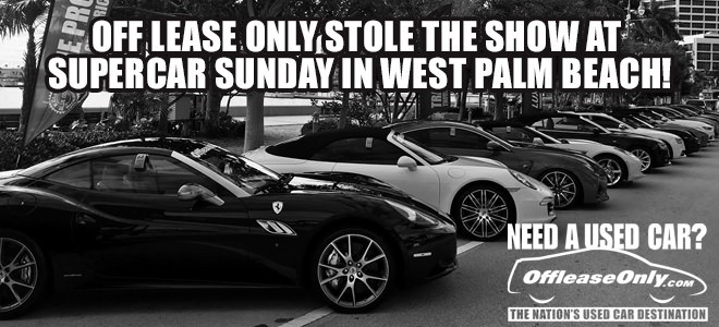 Off Lease Palm Beach >> Off Lease Only Stole The Show At Supercar Sunday In West Palm Beach