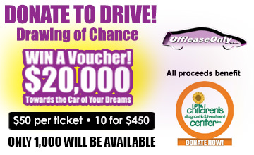 OffLeaseOnly 2017 Donate to Drive - Children Diagnostic Center